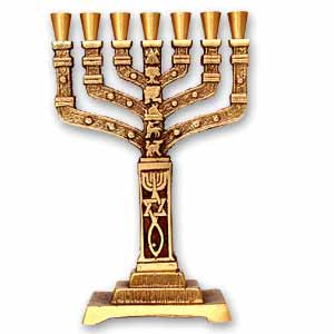 Menorah. Grafted In.