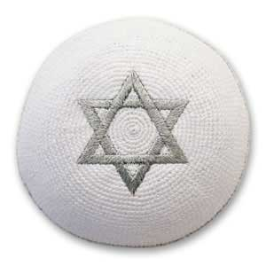 Star of David Knit Kippah