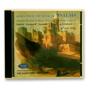 Songs from the Book of Psalms (Audio CD)