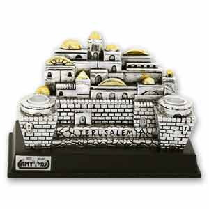 Jerusalem Candle Holder