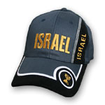 Israel Hat with Menorah