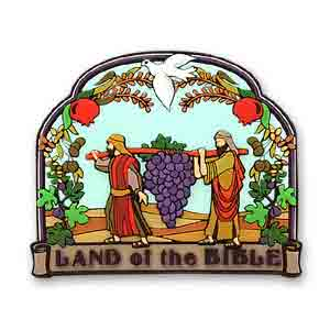 Land of the Bible 3D Magnet