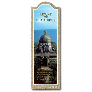 Mount Beatitudes Bookmark