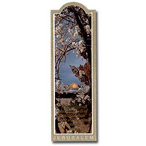 Blossoms in Jerusalem Bookmark