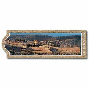 Panorama of Jerusalem Bookmark
