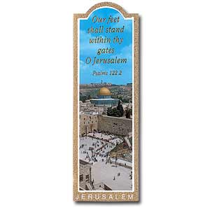 Western Wall Bookmark