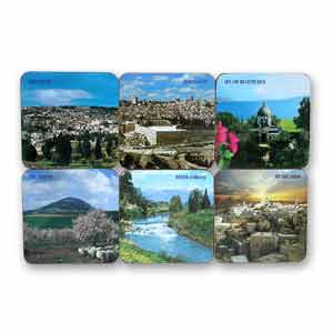 Holy Land Drink Coasters, Set of 6
