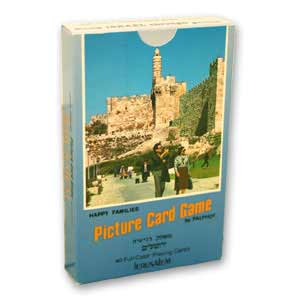 Jerusalem Picture Card Game