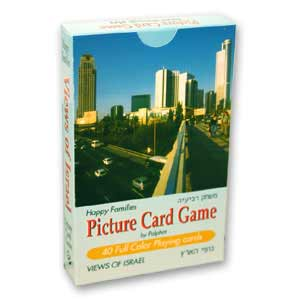 Views of Israel Picture Card Game