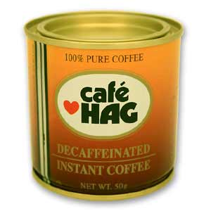 Instant Coffee. Decaffeinated.