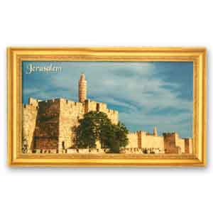 Tower of David Magnet