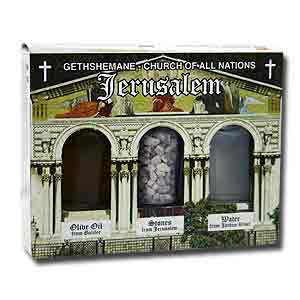 Gethshemane Holy Land Elements Gift Set.