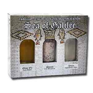 Tabgha Holy Land Elements Gift Set