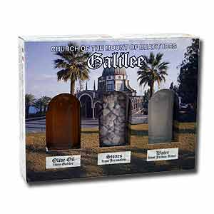 Mount Beatitudes Holy Land Elements Gift Set