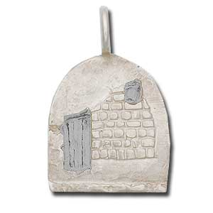 Sterling Silver Empty Tomb Pendant