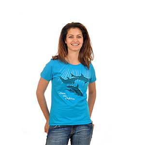 Save the Dolphins Womens T-shirt