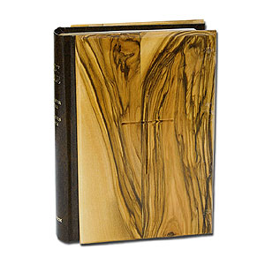 The Holy Bible - English, Olive Wood Cover