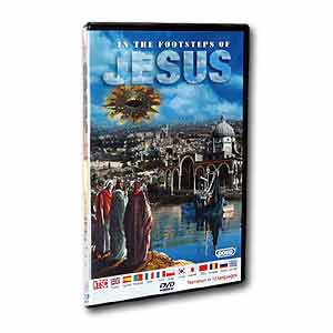 In the Footsteps of Jesus (DVD)