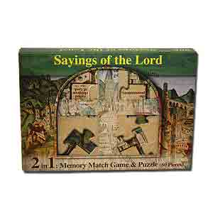 """Sayings of the Lord"" Memory Match Game and Puzzle"