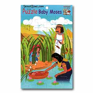 Baby Moses Biblical Puzzle