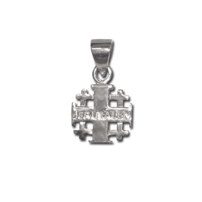 Jerusalem cross sterling silver product description aloadofball Images