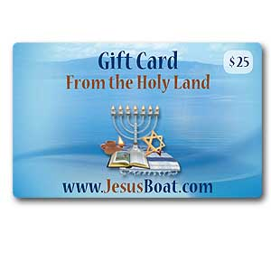 $25 JesusBoat.com Gift Card. Discounted 10%