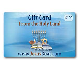 $100 JesusBoat.com Gift Card. Discounted 10%