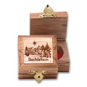 Bethlehem Olive Wood Box