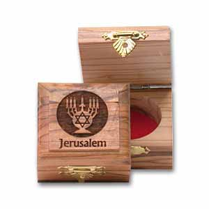Menorah Olive Wood Box Designs