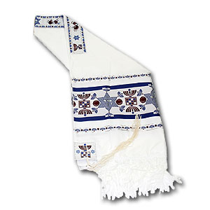 Prayer Shawl. Chai Tallit.