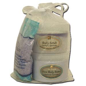 Edom Lavender At Home Spa Kit.
