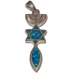 Messianic Seal Pendant.