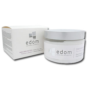 Edom Body Butter, Lavender Patchouli