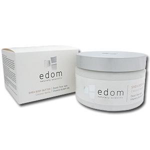 Edom Shea Body Butter. Coconut-Vanilla.