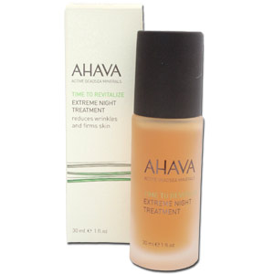 Anti Aging Night Treatment by AHAVA Dead Sea