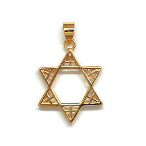 Gold Filled Messianic Pendant