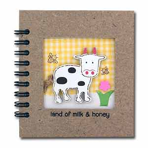 Land Milk and Honey Notebook