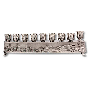 Magic Hanukkah Menorah