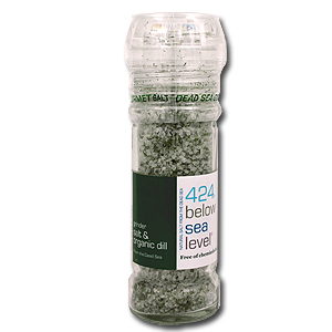 Dead Sea Salt with Organic Dill