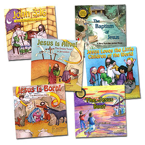 Set of 6 Rev Reinmann Biblical Children's Books SAVE 20% (retail only)