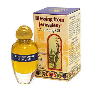 Blessing from Jerusalem Anointing Oil Frankincense & Myrrh