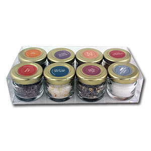 Set of 8 Dead Sea Gourmet Salt