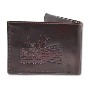 "100% Genuine Leather Hand Made Wallet ""Jerusalem"""