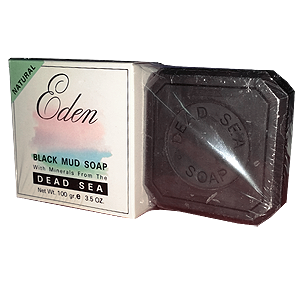 SPECIAL OFFER 2-Pack Eden Dead Sea Black Mud Soap