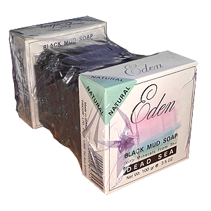 SPECIAL OFFER 5 Pack Eden Dead Sea Black Mud Soap