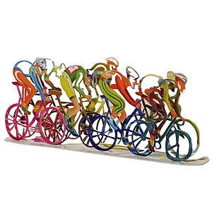 """Bicycles - The Race"" by Marina Zlochin"