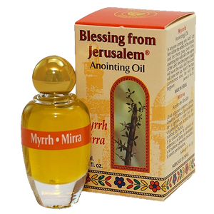 Blessing from Jerusalem Anointing Oil Myrrh