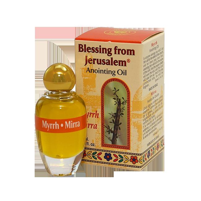 Blessing from Jerusalem Anointing Oil Myrrh