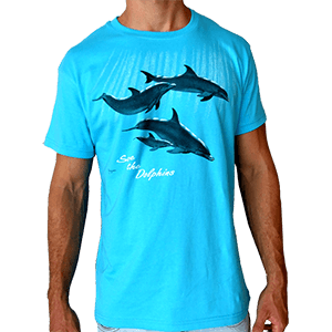 Save the Dolphins Men T-shirt