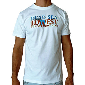 Dead Sea - Lowest Place on Earth T-Shirt
